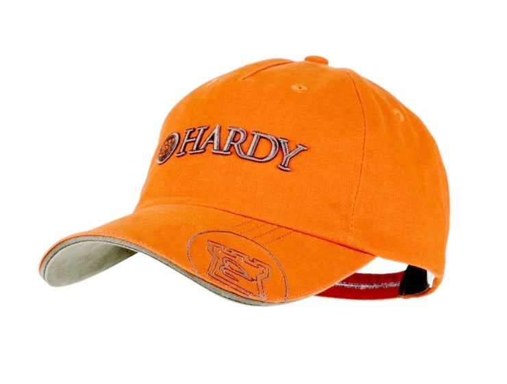 Hardy Classic Orange Olive Fishing Cap