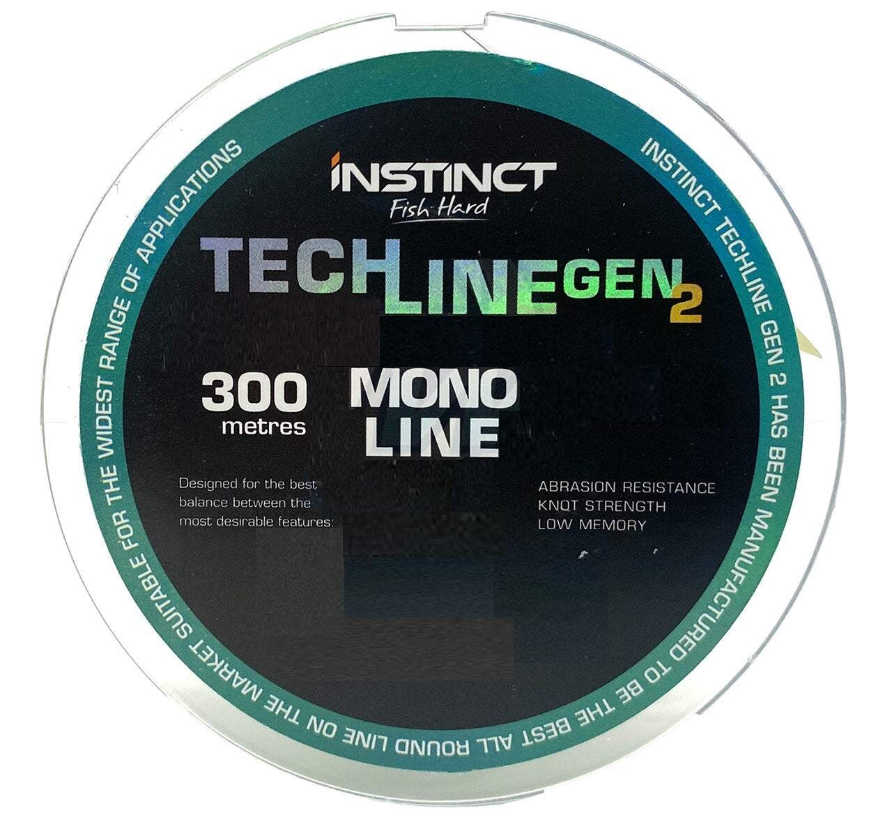 Instinct IN110 Techline Gen 2 Monofilament Line