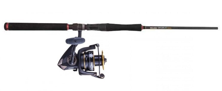 Jarvis Walker Tactical 4000 Reel and Rovex 703SPH Specialist Travel Rod Combo