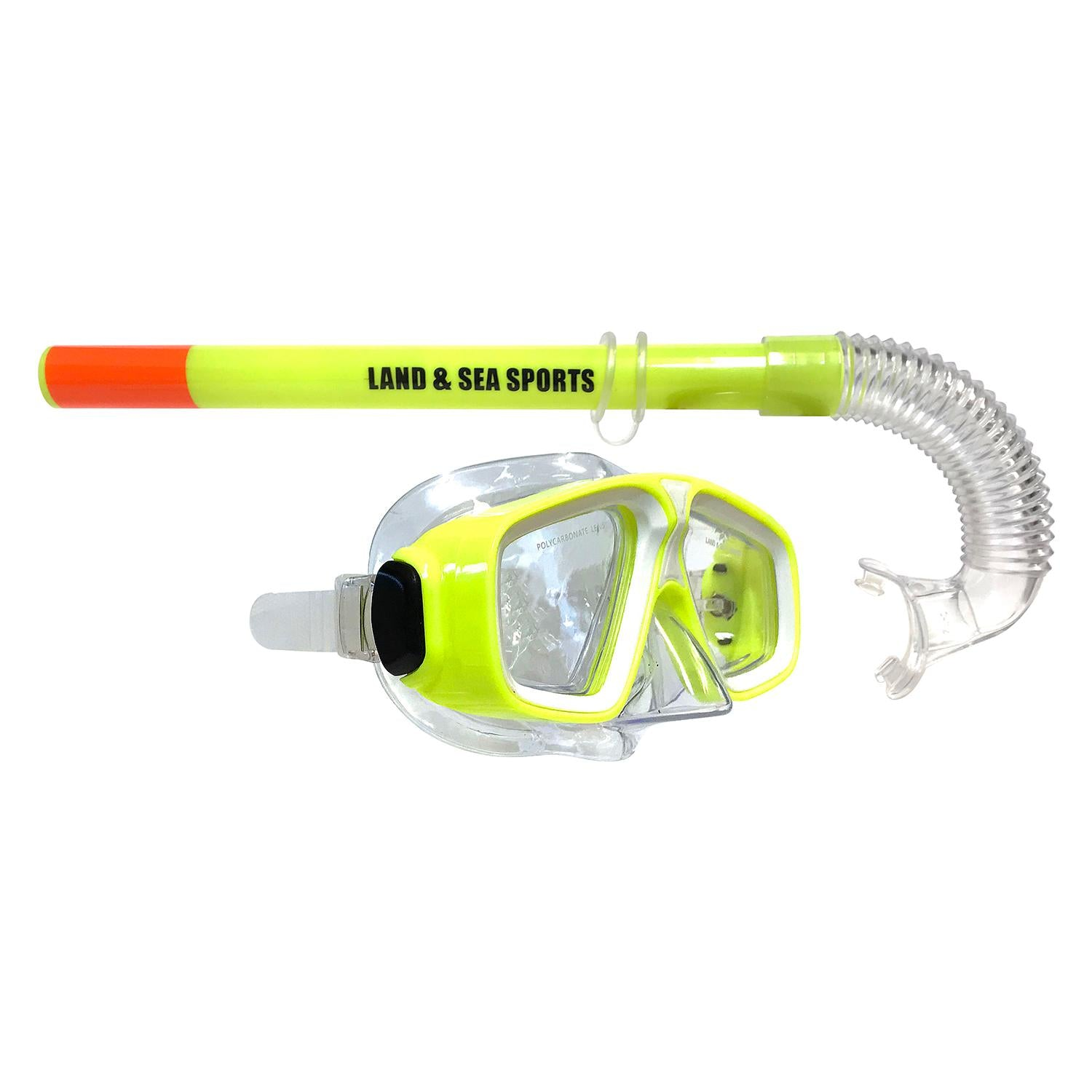 Land and Sea Rockpool Silitex Mask and Snorkel