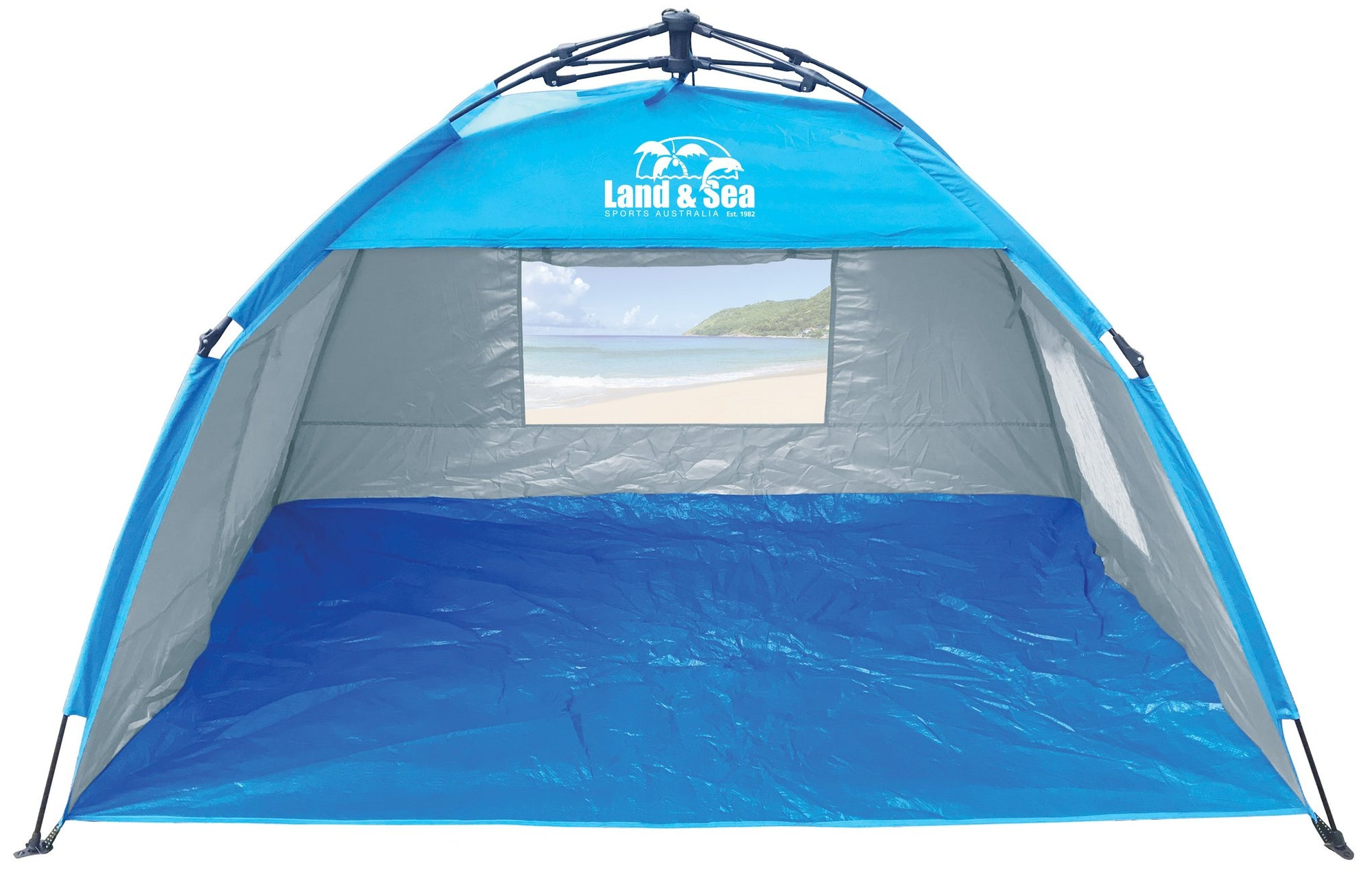Land and Sea Sunshine Beach Super Quick Pop-up Tent Shade