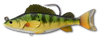 Live Target Yellow Perch Swimbait Lure