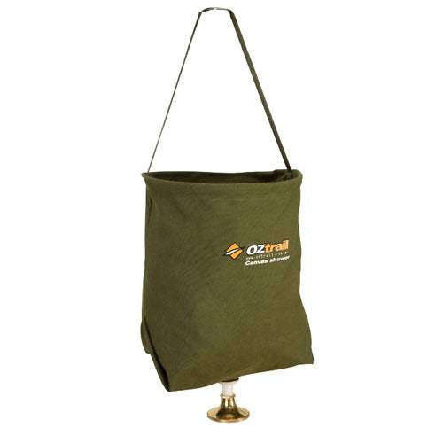 OZtrail 20L Canvas Shower Bucket Bag
