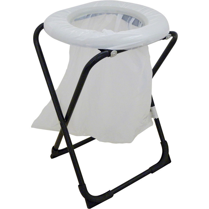 OZtrail Folding Toilet Chair with Bag - FCM-TOIB-A