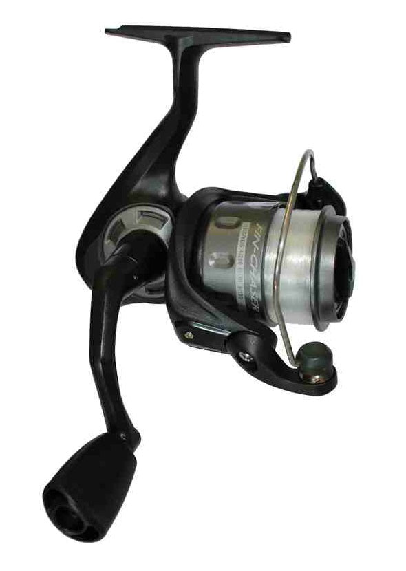 Okuma Fin Chaser Black FN Spin Reel with Line