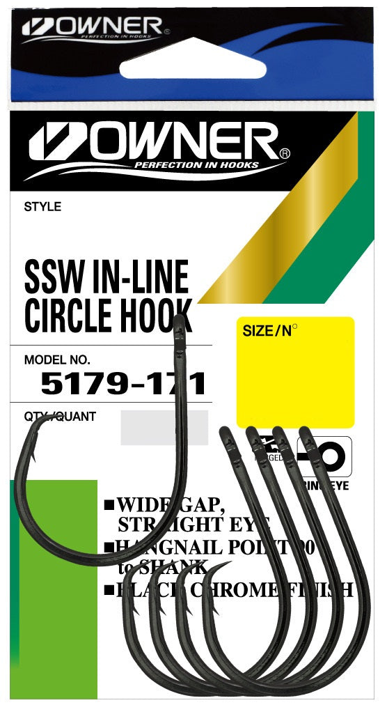 Owner 5179 SSW Inline Circle Hook