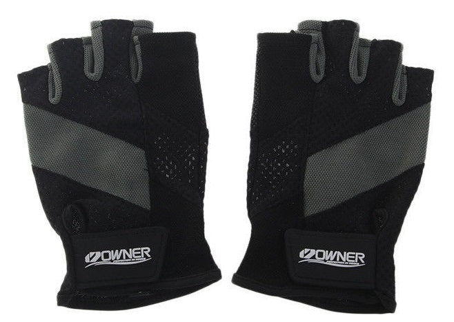 Owner Fingerless Mesh Fishing Gloves