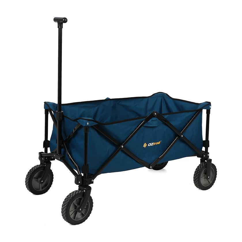 Oztrail Collapsible Beach and Camping Trolley Cart Wagon