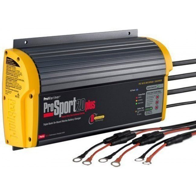 ProMariner ProSport 20 Plus PFC Gen3 20A 3 Bank Battery Charger