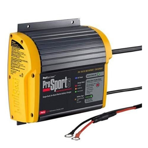 ProMariner ProSport 6 AMP Single Bank Marine Battery Charger