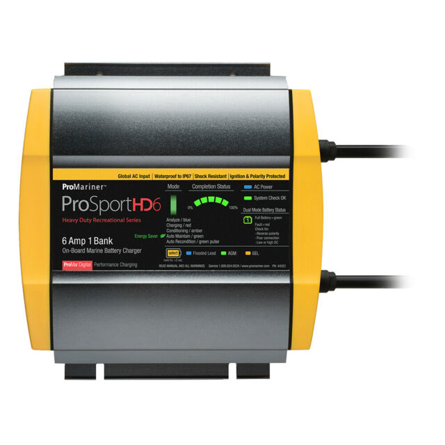 ProMariner Pro Sport HD Heavy Duty Series On Board Marine Battery Charger