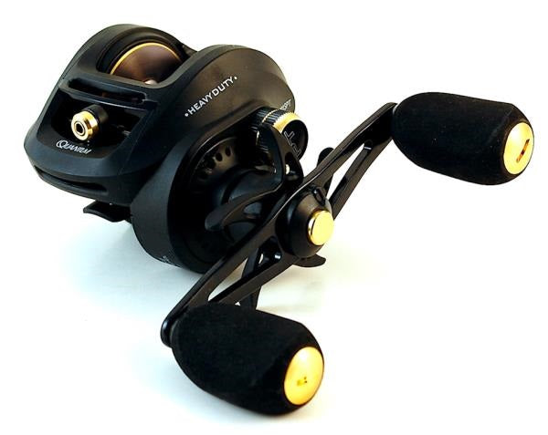 Quantum Smoke HD Heavy Duty Baitcast Reel