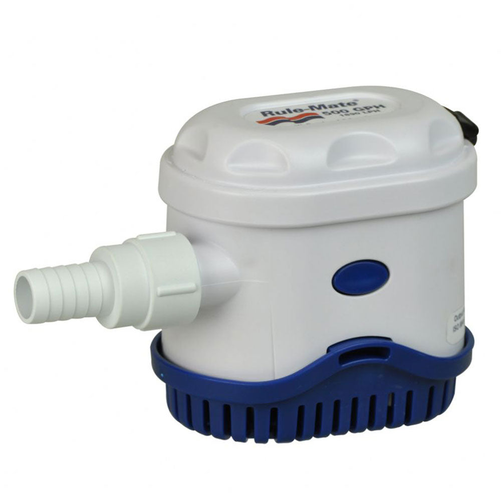 RWB Rule-Mate 500GPH Automatic Bilge Pump - 12V