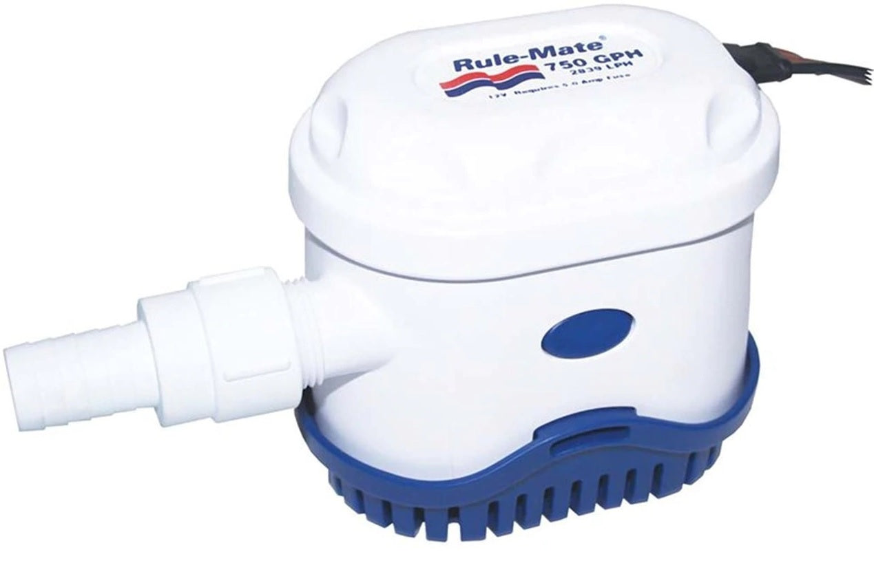 RWB Rule-Mate 750GPH Automatic Bilge Pump - 12V