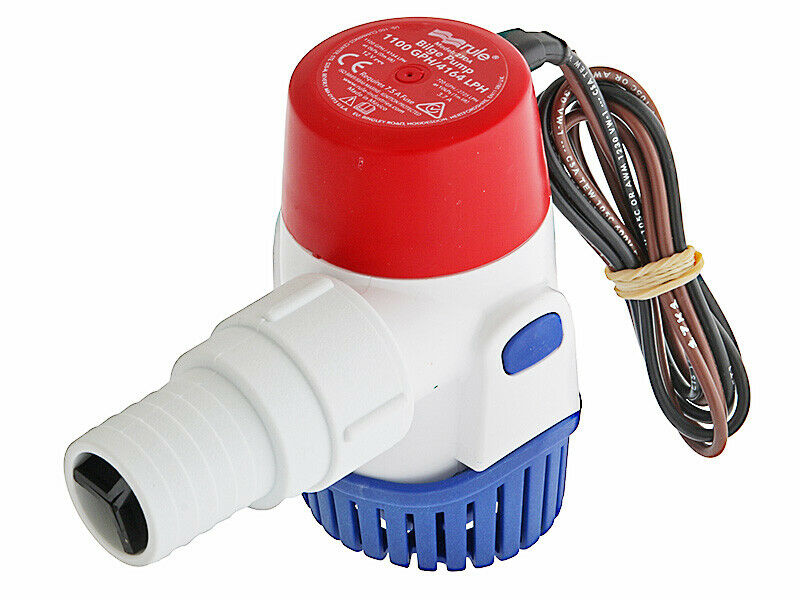 RWB Rule 1100GPH Submersible Bilge Pump - 12V