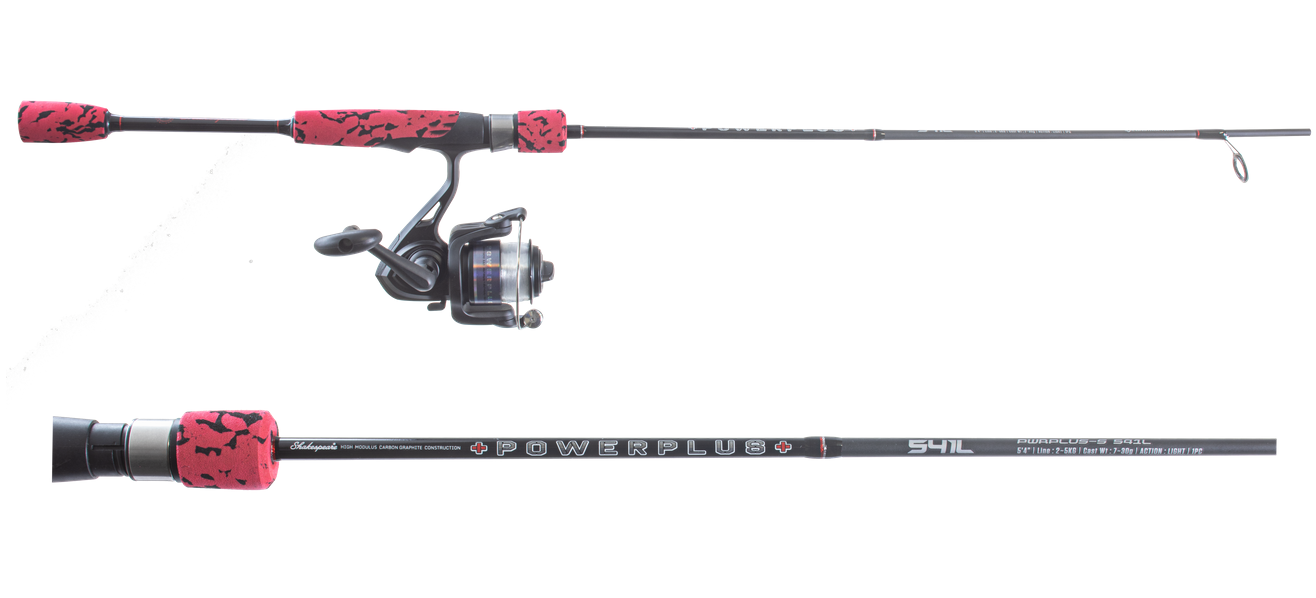 Shakespeare Powerplus Rod and Reel Combo