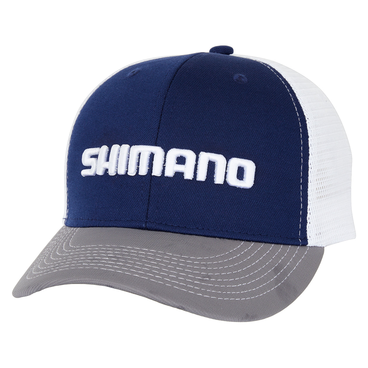 Shimano Trifecta White Navy Grey Corporate Cap