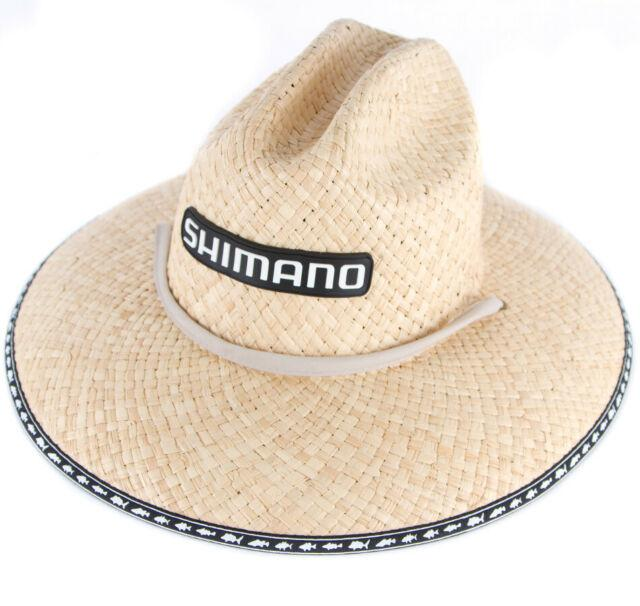 Shimano Raffia Crushable Straw Hat