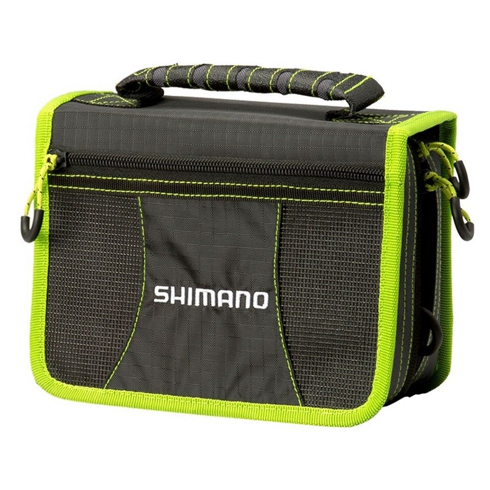 Shimano Tackle Wallet - Black Green