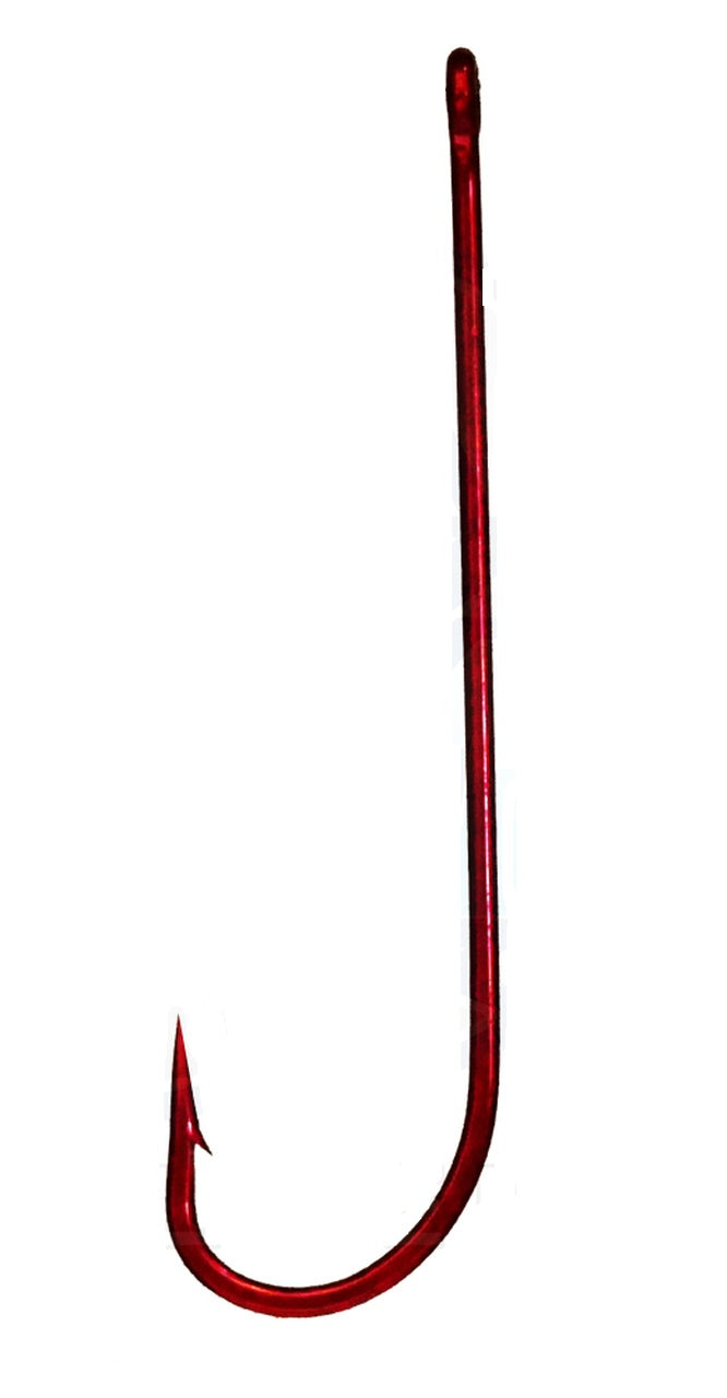 Shinto 6031 Carlisle Red Long Shank Hook Bulk Pack