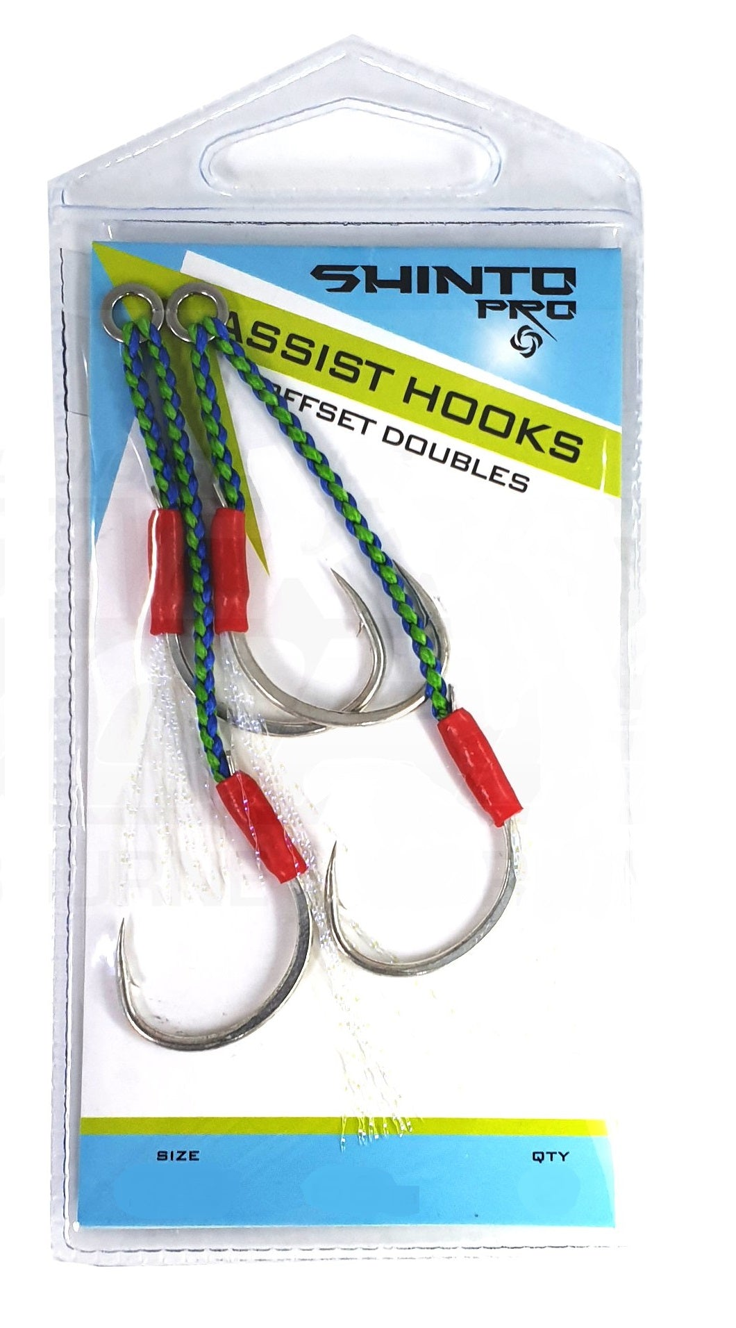 Shinto Pro SH040 Offset Medium Double Assist Hook