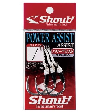 Shout 25-PA Powerful Assist Rigged Assist Hook