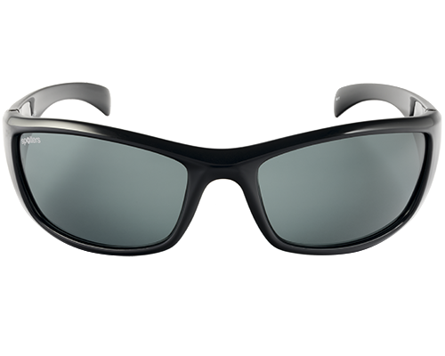 Spotters Artic+ Gloss Black Frame Polarised Sunglasses
