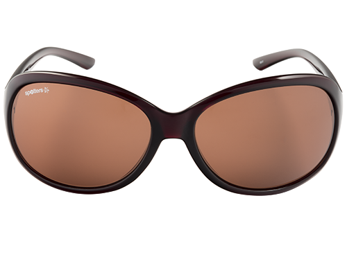 Spotters Ava Gloss Brown Womens Performance Polarised Sunglasses