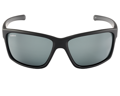 Spotters Grit Matt Black Frame Polarised Sunglasses
