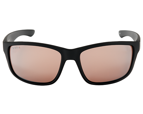 Spotters Rebel Matt Black Frame Polarised Sunglasses