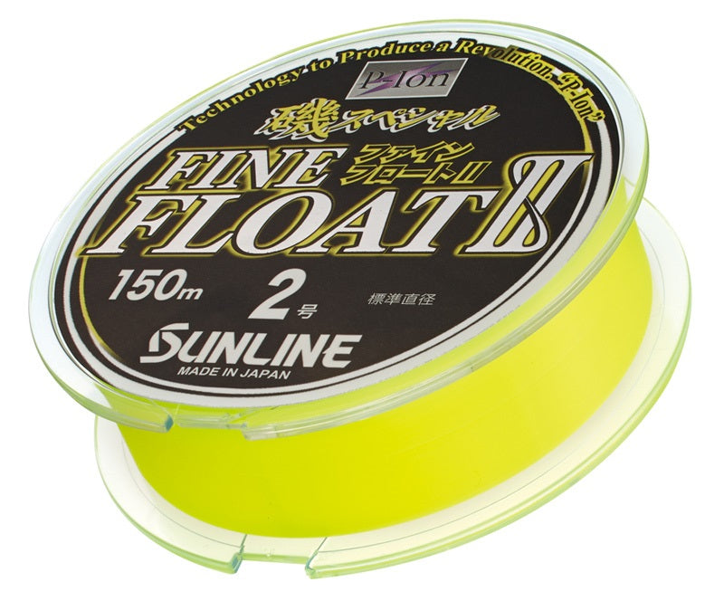Sunline Fine Float II Floating 150m Monofilament Fishing Line
