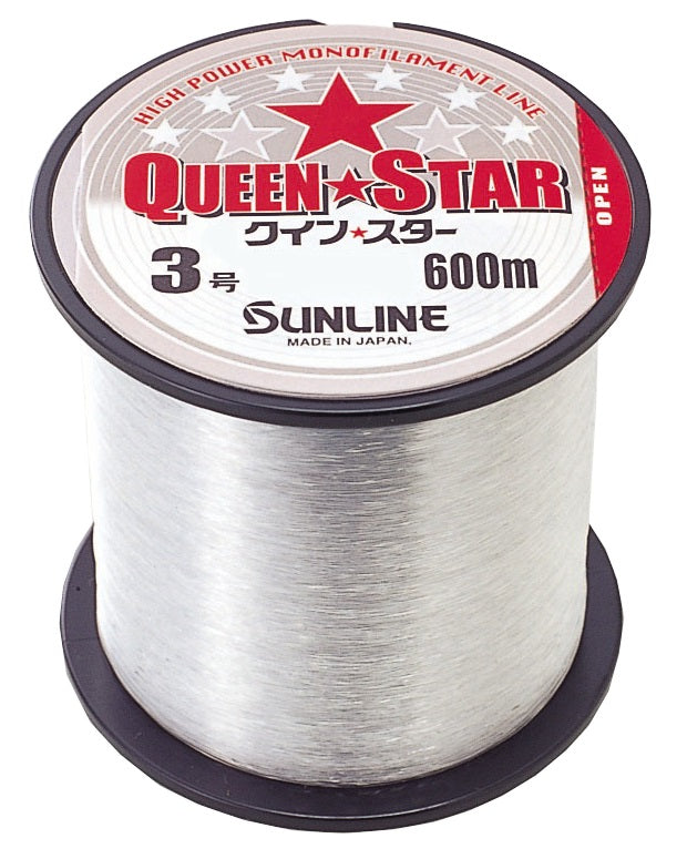 Sunline Queen Star 600m Monofilament Fishing Line