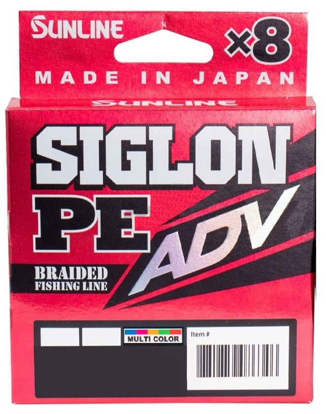 Sunline Siglon PEx8 ADV Braided Fishing Line Multi Colour 150m