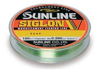 Sunline Siglon V Tournament 100m Green Monofilament Line
