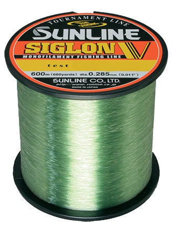 Sunline Siglon V Tournament 600m Green Monofilament Line