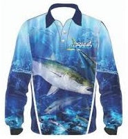Tackle World Kingfish Adult Long Sleeve Fishing Shirt Jersey