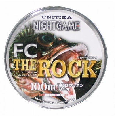 Unitika The Rock FC 100m Fluorocarbon Leader