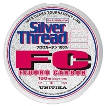 Unitika Silver Thread Fluoro Carbon Fishing Line 150m