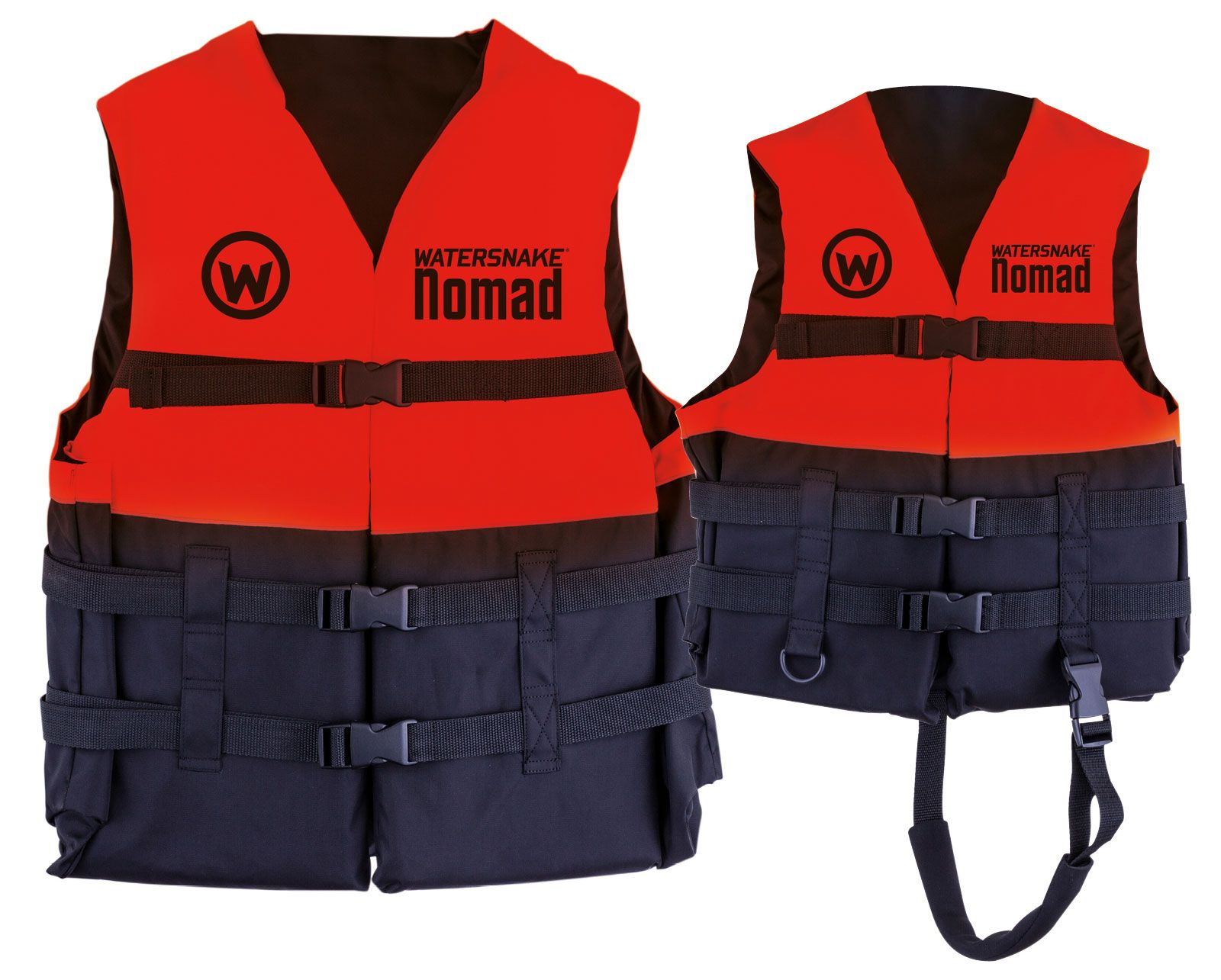 Watersnake Nomad PFD Level 50 Red Life Jacket Adult