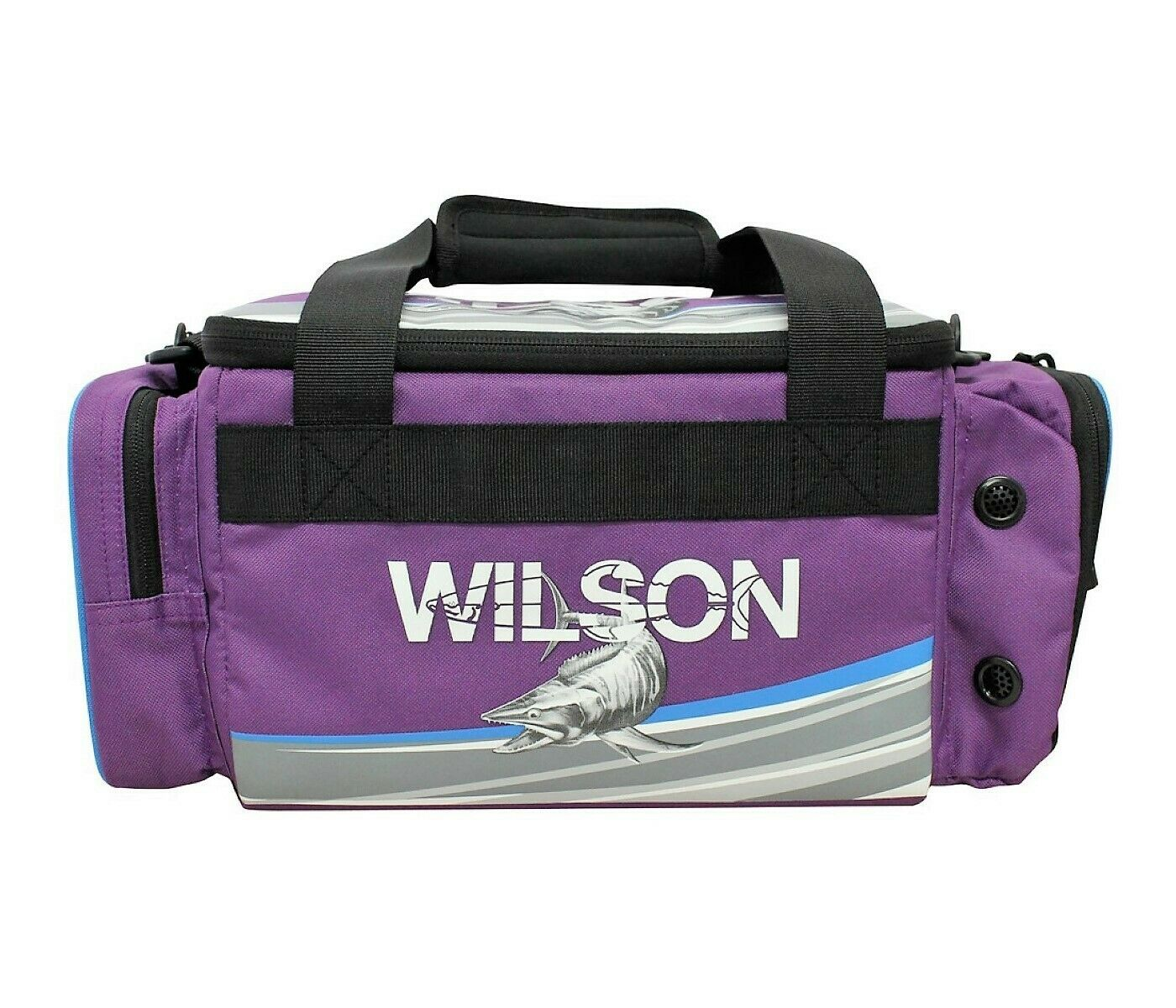 Wilson Small 4 Tray Tackle Bag - Purple
