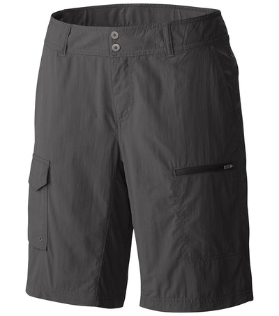 Columbia Silver Ridge Womens Cargo Shorts Grill