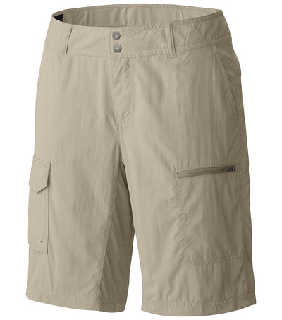 Columbia Silver Ridge Womens Cargo Shorts Fossil