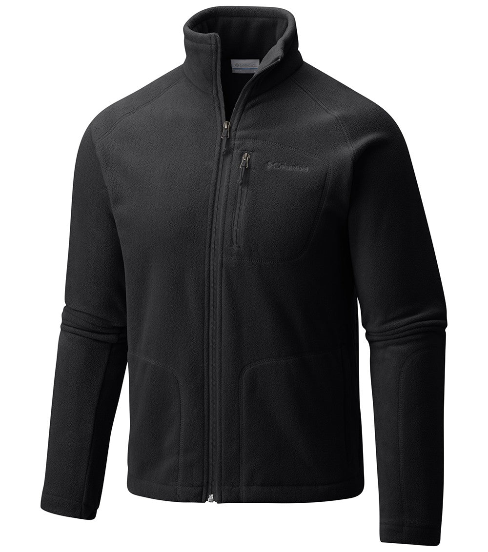 Columbia Fast Trek II Full Zip Mens Fleece Jacket Black