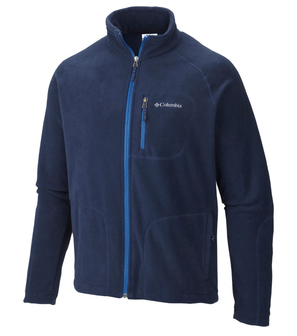 Columbia Fast Trek II Full Zip Mens Fleece Jacket Collegiate Navy