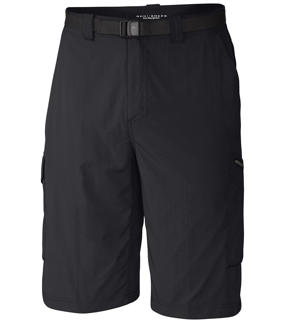 Columbia Silver Ridge Cargo Mens Shorts Black