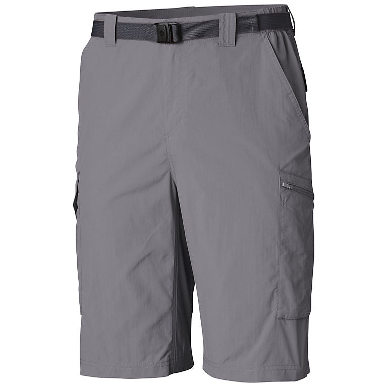 Columbia Silver Ridge Mens Cargo Shorts Cool Grey