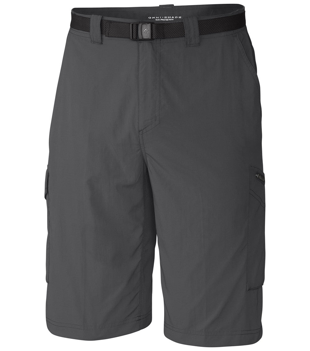 Columbia Silver Ridge Cargo Mens Shorts Grill