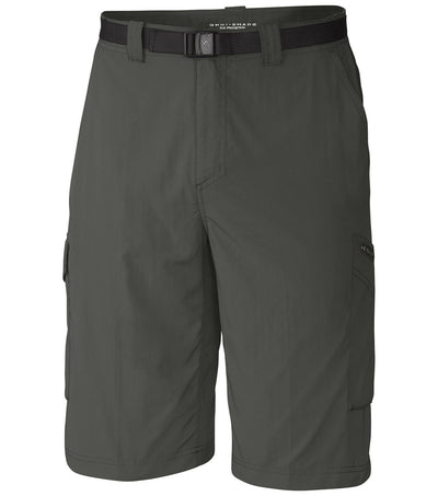 Columbia Silver Ridge Mens Cargo Shorts Gravel