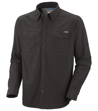 Columbia Silver Ridge Long Sleeve Mens Shirt Grill