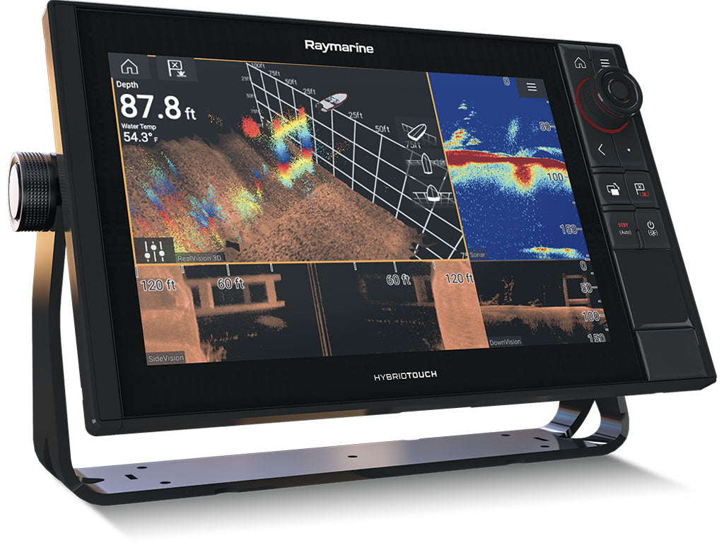 Raymarine Axiom Pro 9 MFD RealVision 3D 1kW Chirp with Navionics GPS and Sonar Combo Unit